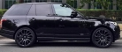 Black Range Rover Vogue